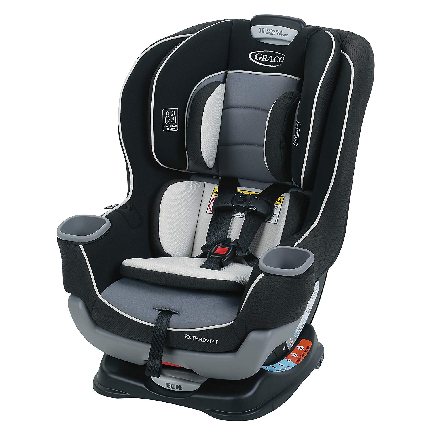 Graco Extend2Fit Convertible Best Infant Car Seat