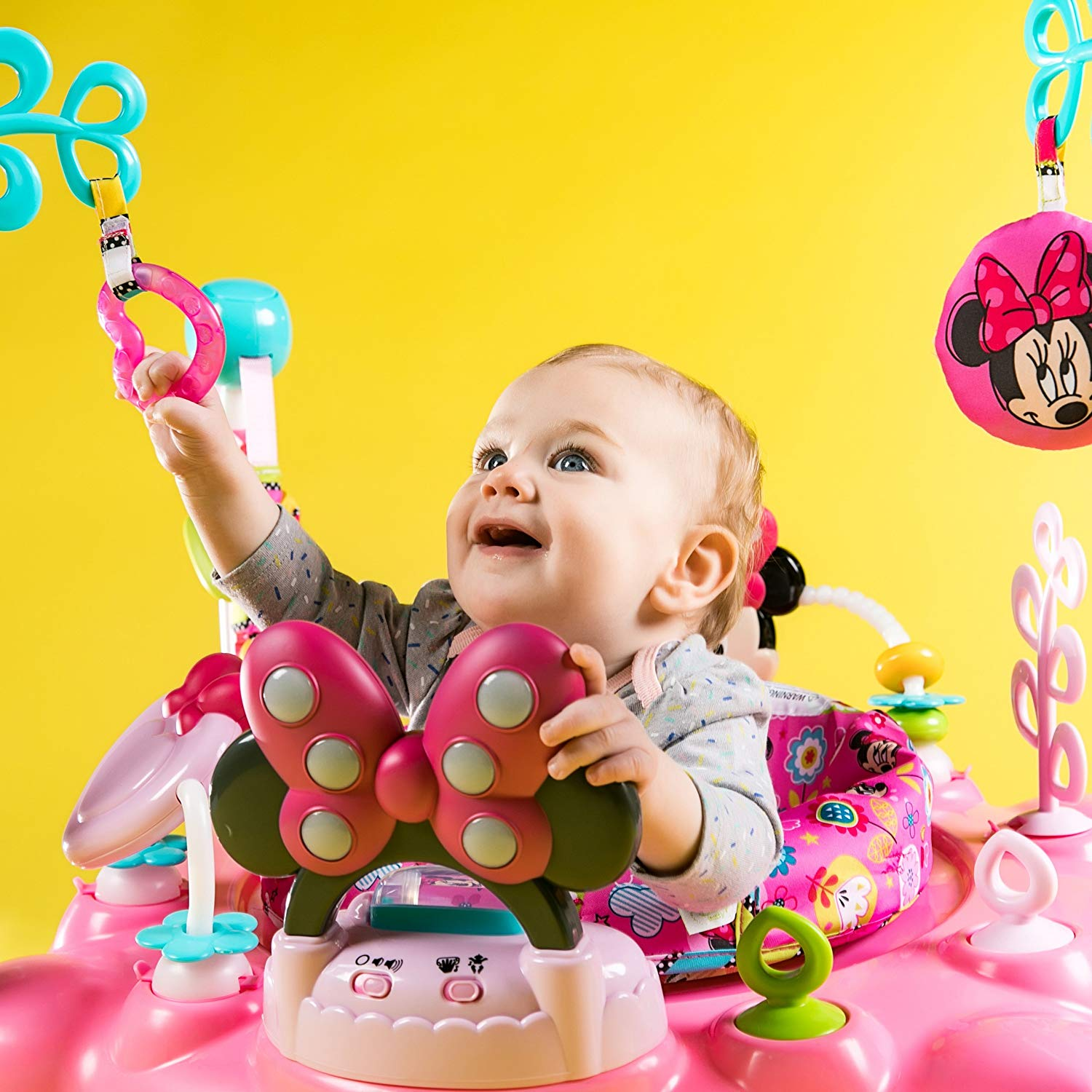 MINNIE MOUSE PeekABoo Activity best baby Jumper