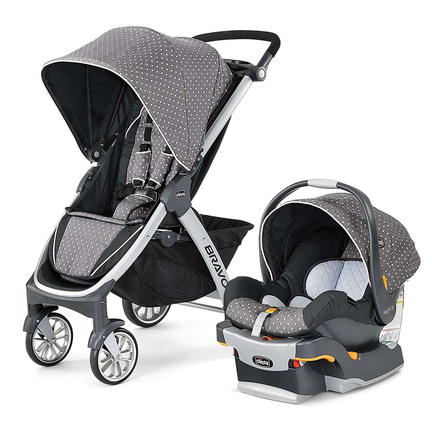 Chicco Bravo Trio Travel System best baby stroller