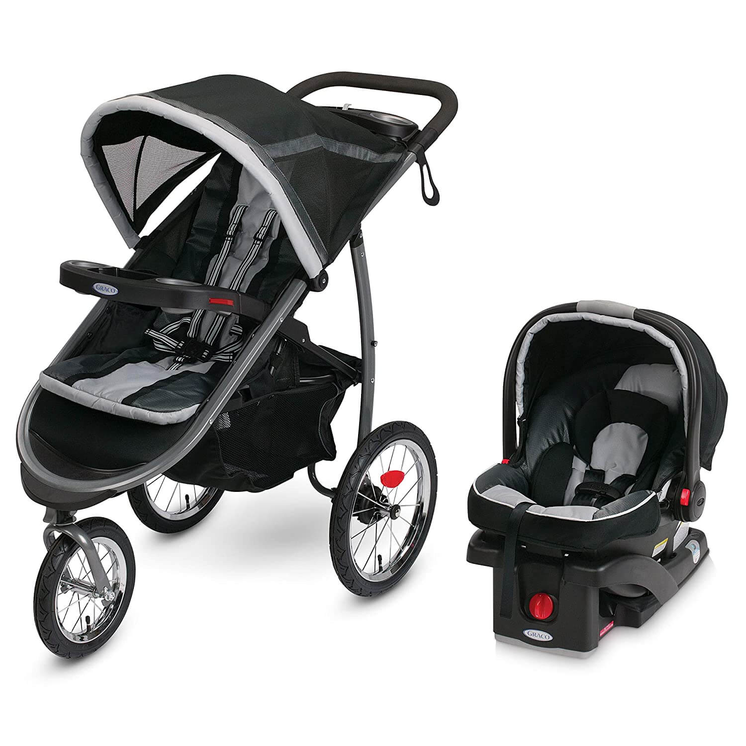 Graco FastAction Fold Jogger Travel System best baby stroller