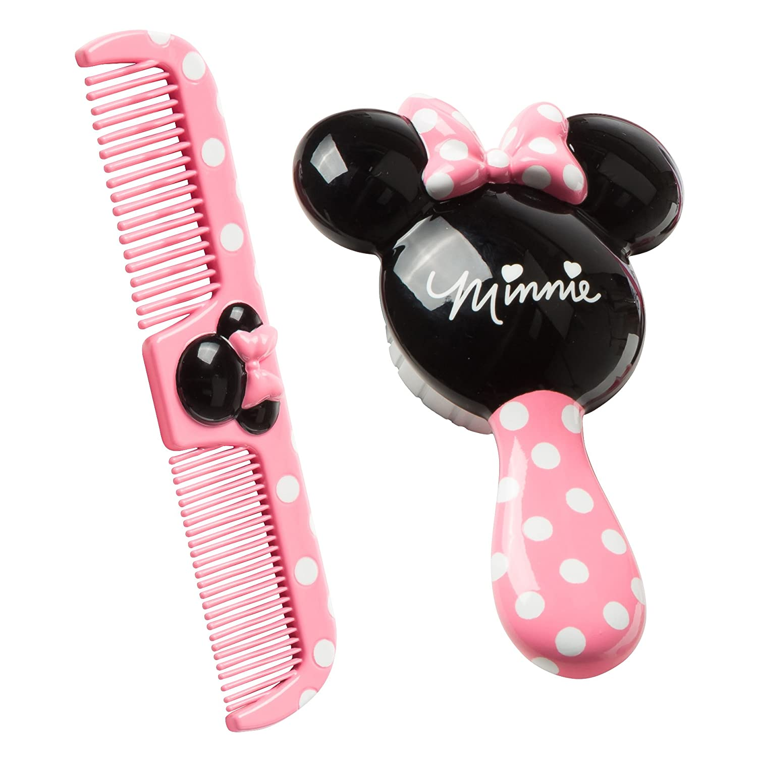 Disney Best Baby Minnie Hair Brush and Wide Tooth Comb