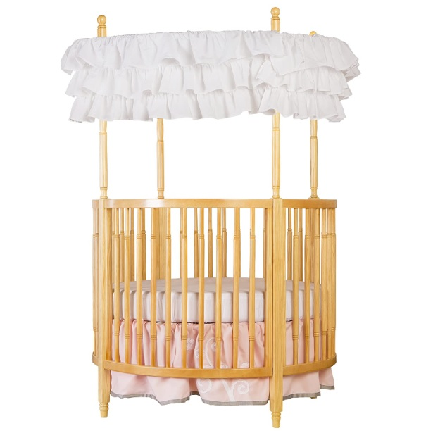Dream On Me Sophia Posh Circular round baby Crib
