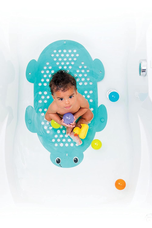 Infantino best baby Bath Mat Storage Basket