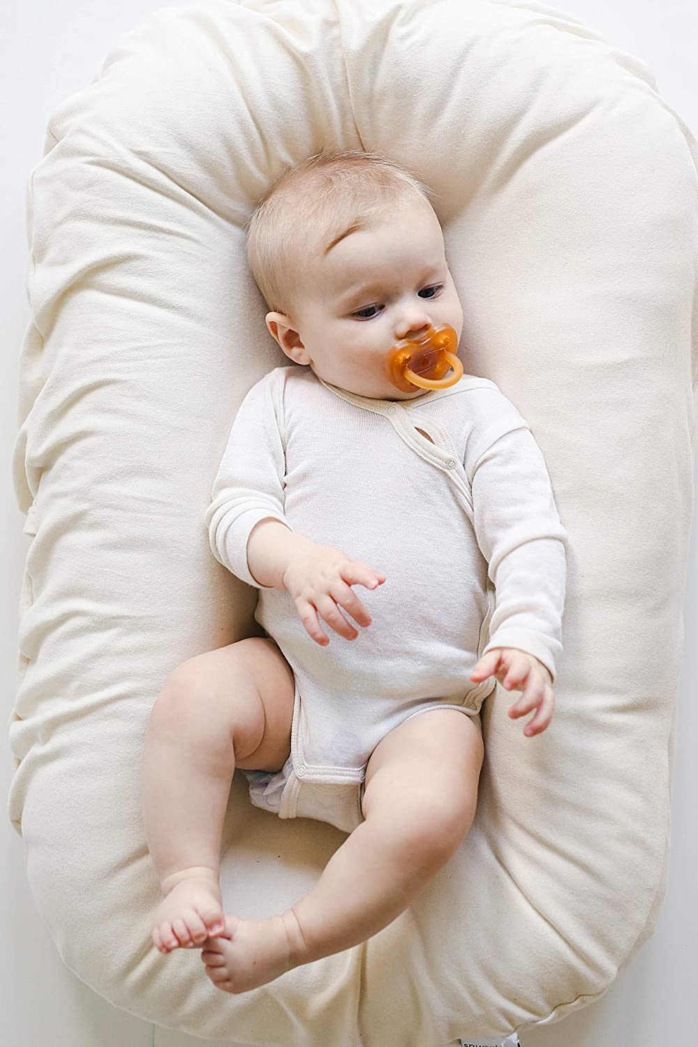 Snuggle Me Organic Sensory Best Baby Lounger