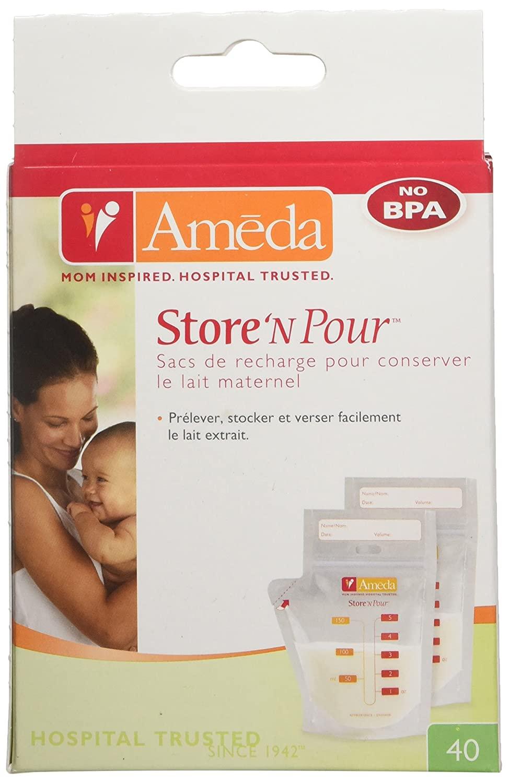 Ameda Store N Pour Best Breast Milk Storage Bags