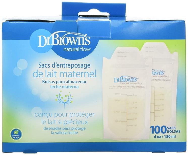 Dr Brown Best Breastmilk Storage Bags