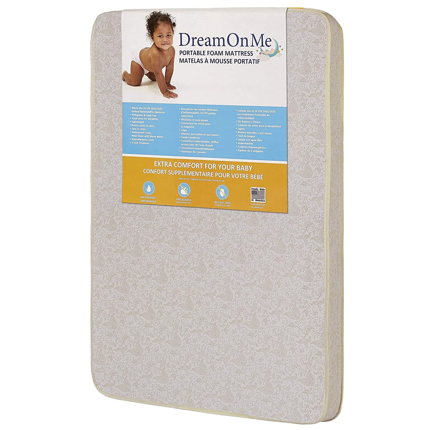 Dream On Me Foam Best Pack n Play Mattress