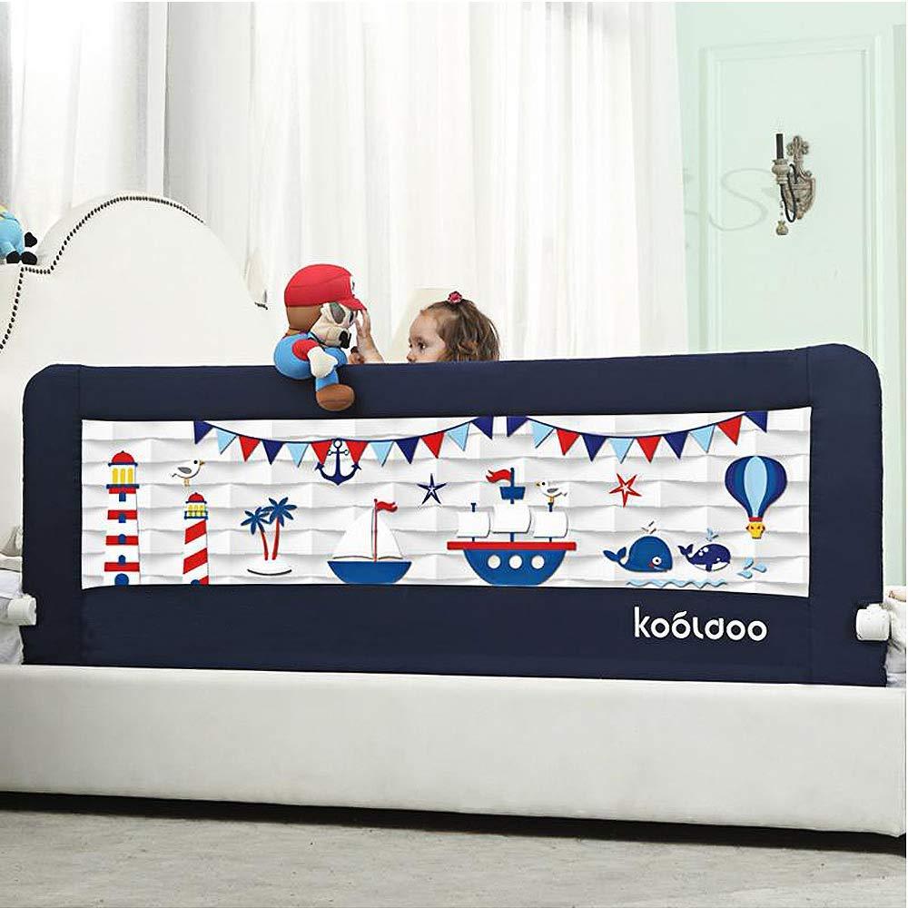 KOOLDOO Fold Down Best Toddler Bed Rail