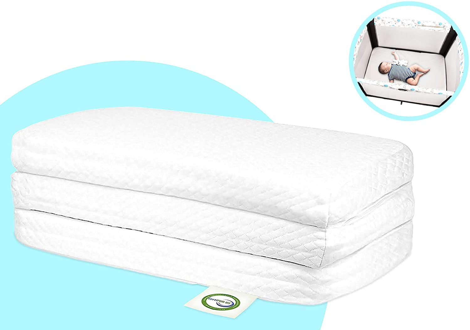 Stock Your Home Best Pack & Play Mattress