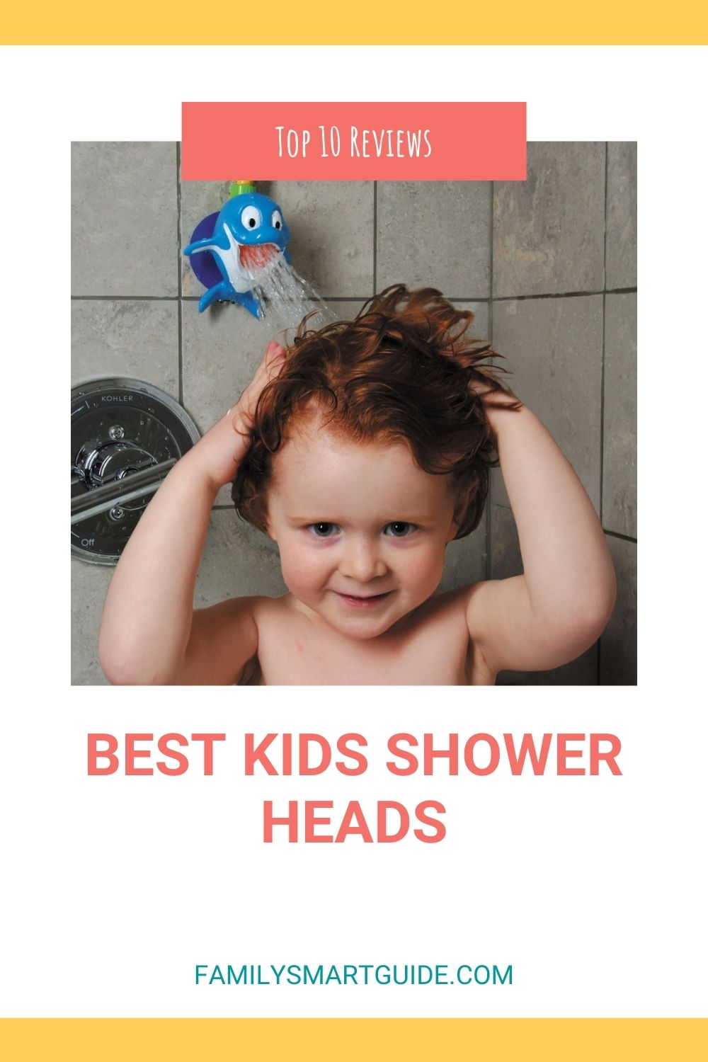 Top 10 Best Kids Shower Heads For Toddlers