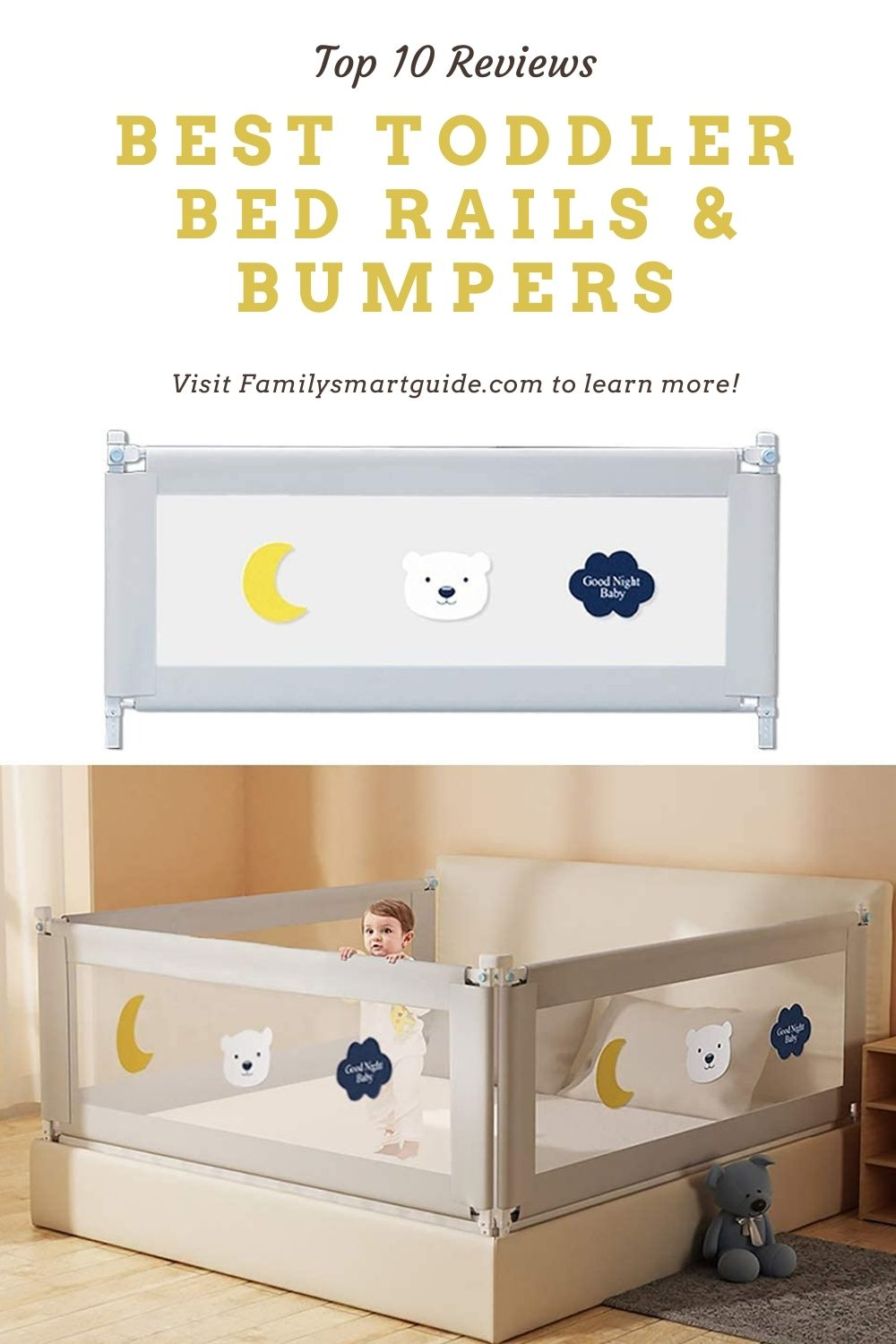 Top 10 Best Toddler Bed Rails & Bumpers