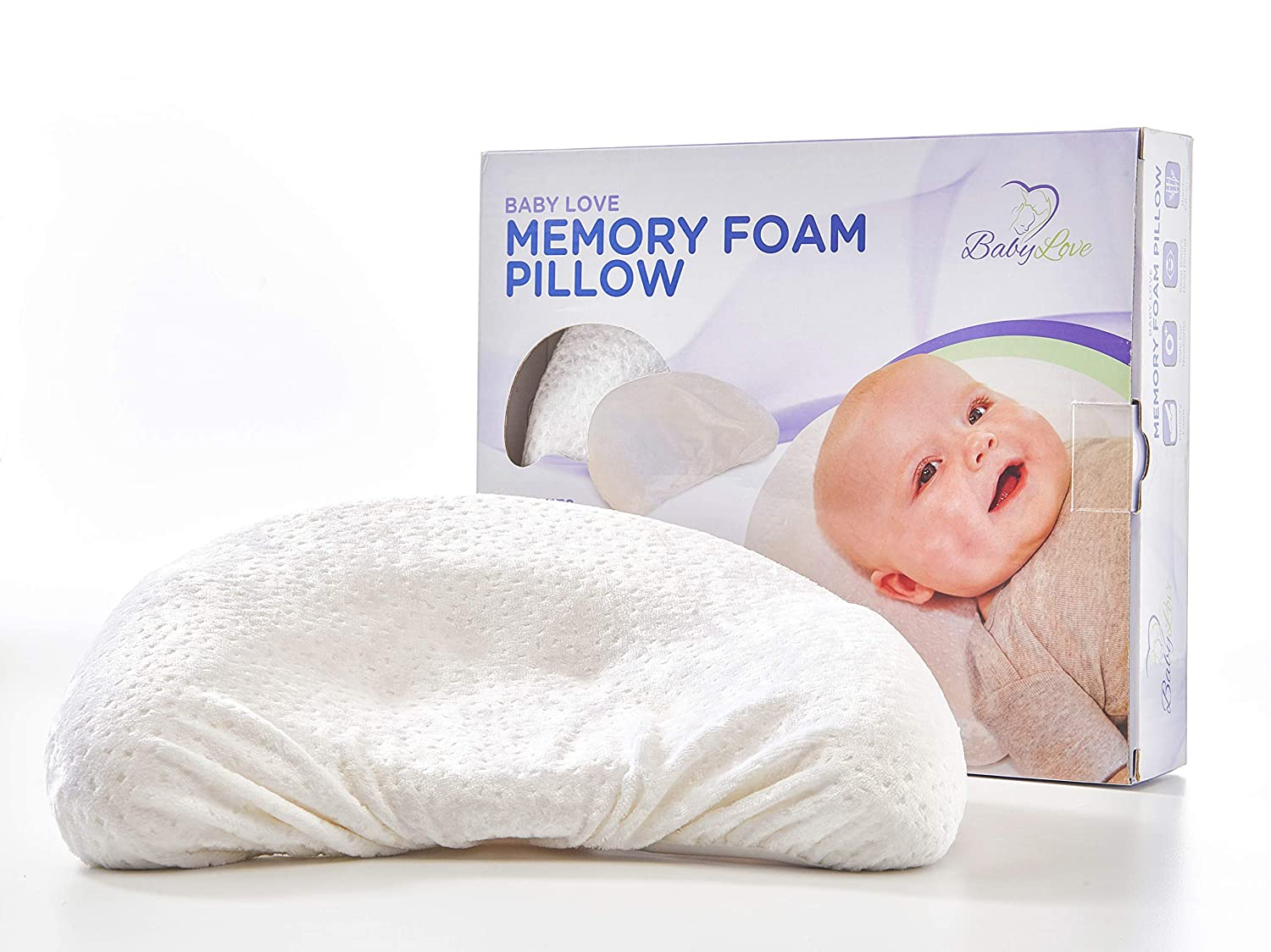 Baby Love USA Baby Head Shaping Pillow