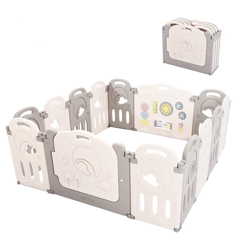Fortella Cloud Castle Best Foldable Playpen