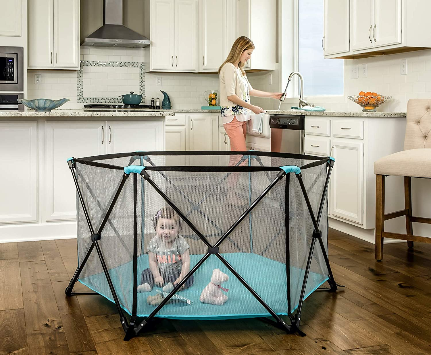 Regalo My Play Best Portable Play Yard Indoor and Outdoor