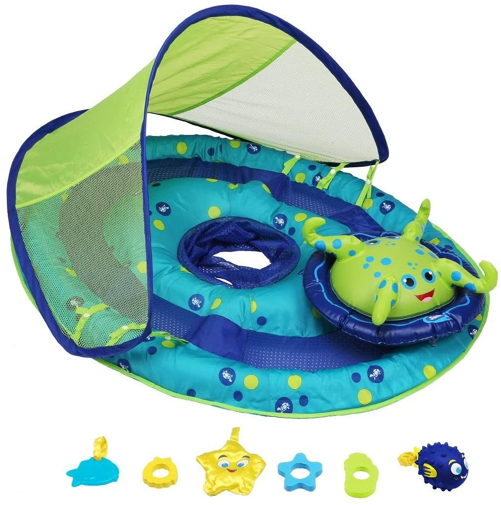 SwimWays Best Baby Spring Float with Canopy