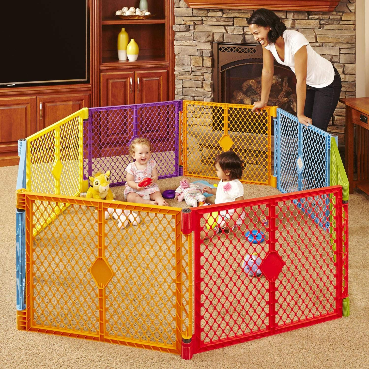 Toddleroo by North States Best Baby Play Yard