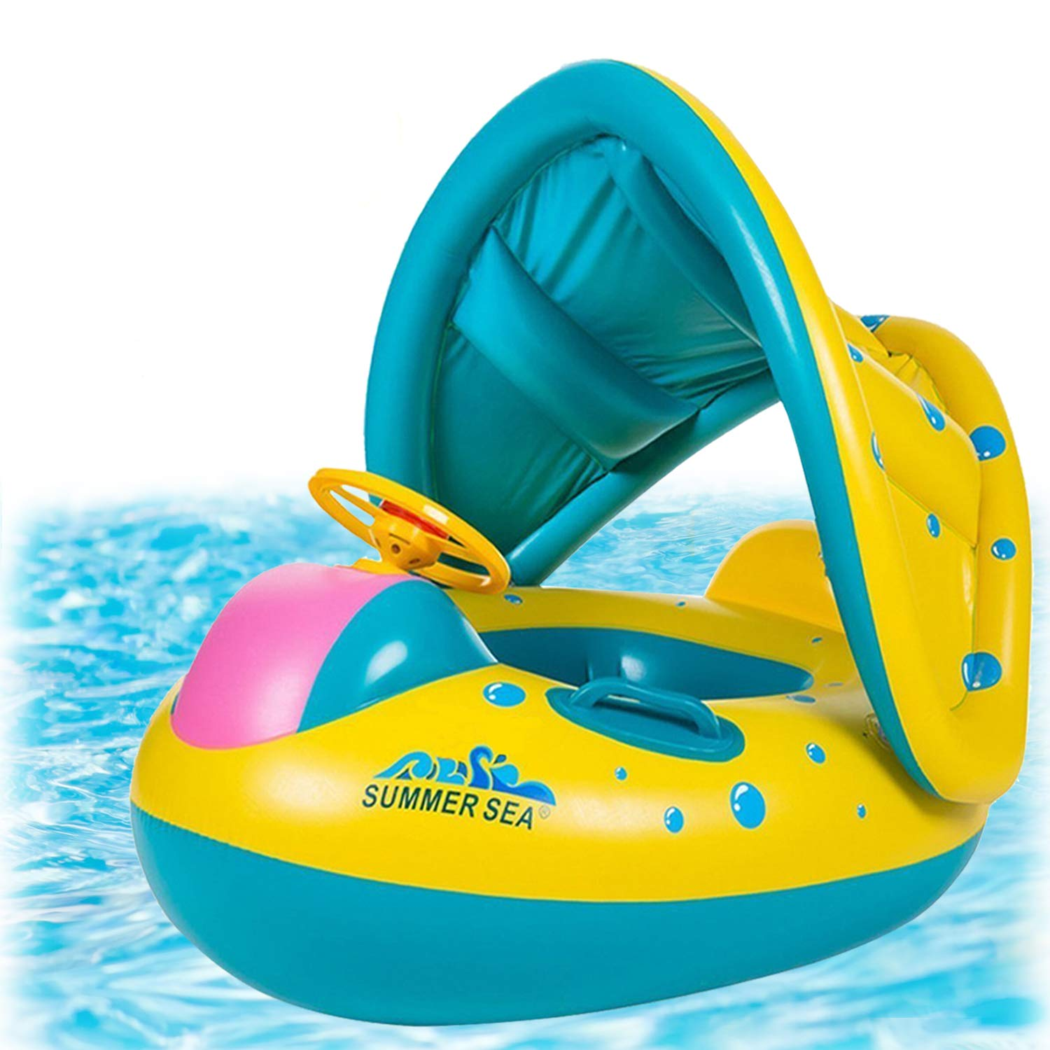 punada Best Baby Pool Float with Canopy
