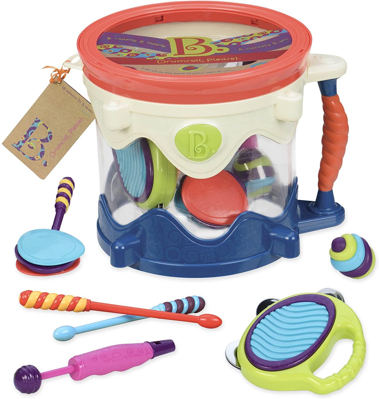 B. toys Best Toddler Drum Kit for Kids