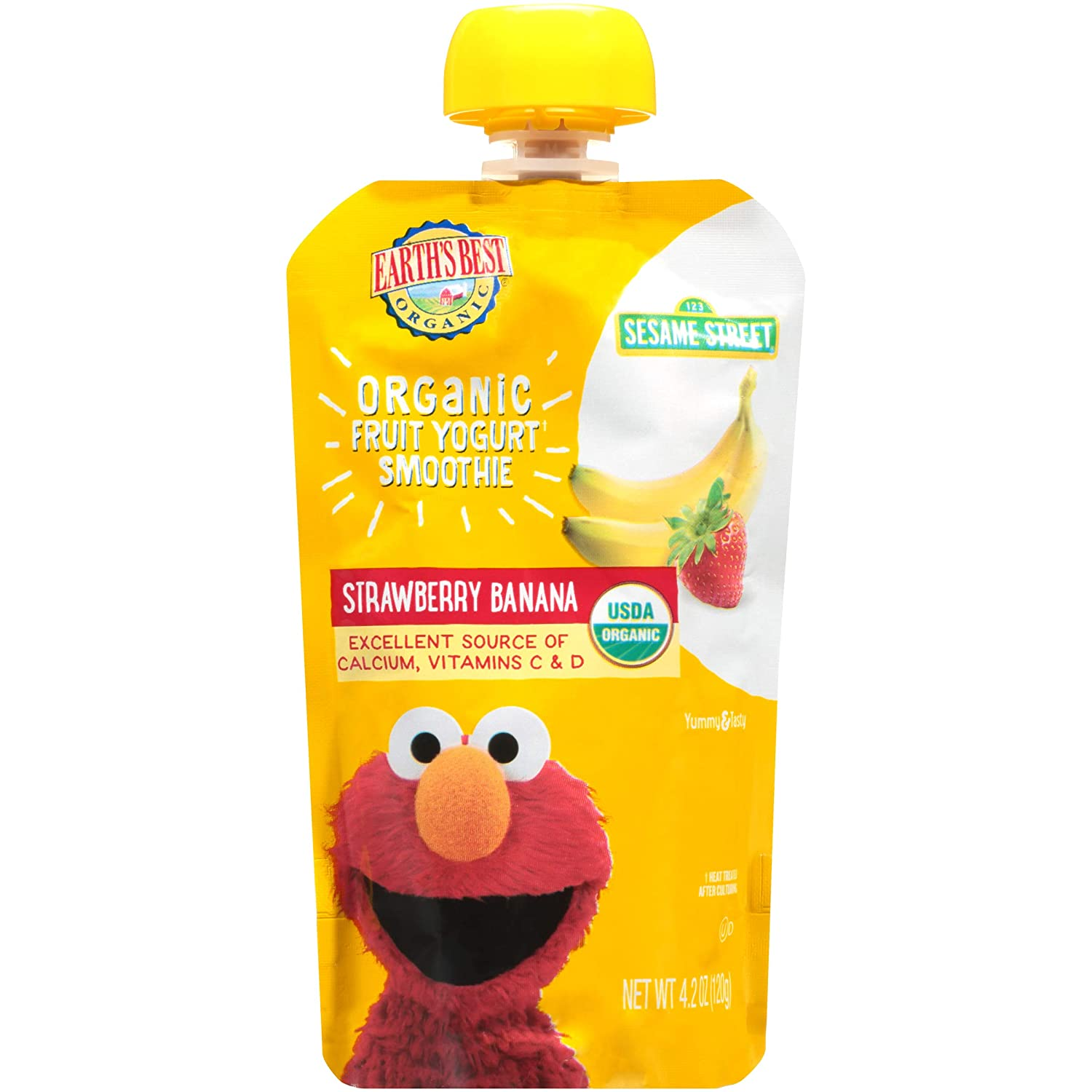 Earth Best Organic Fruit Yogurt for Babies