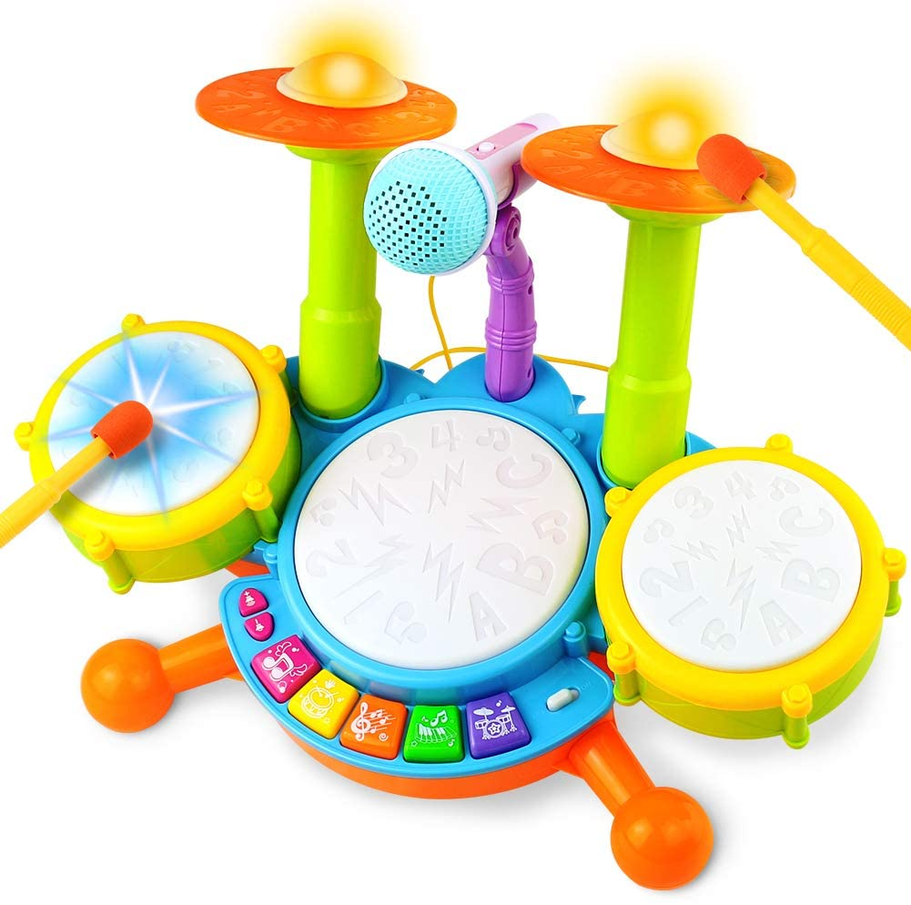 Fajiabao Best Toddler Drum Set for Kids
