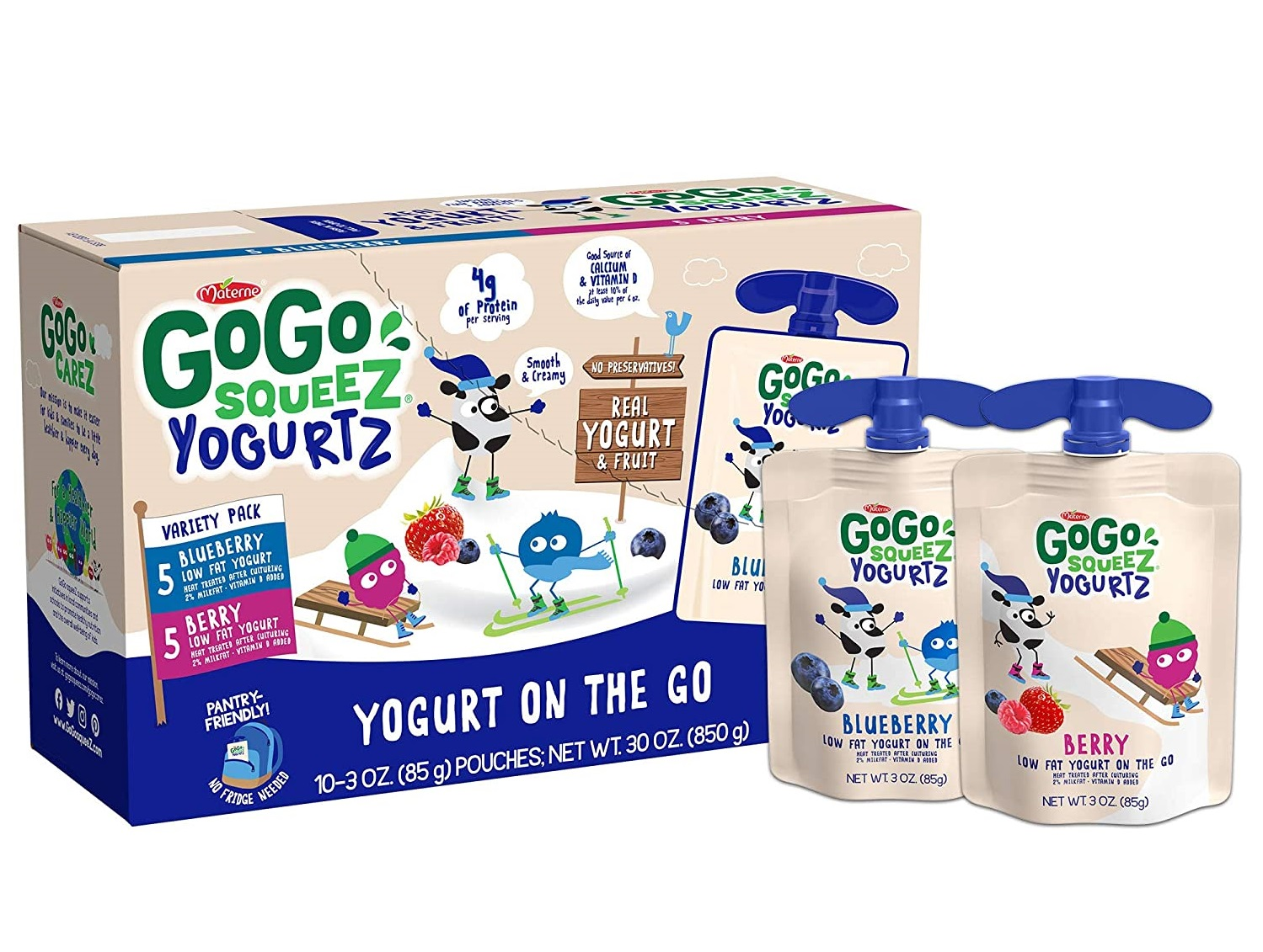 GoGo Best squeeZ yogurtZ for Baby