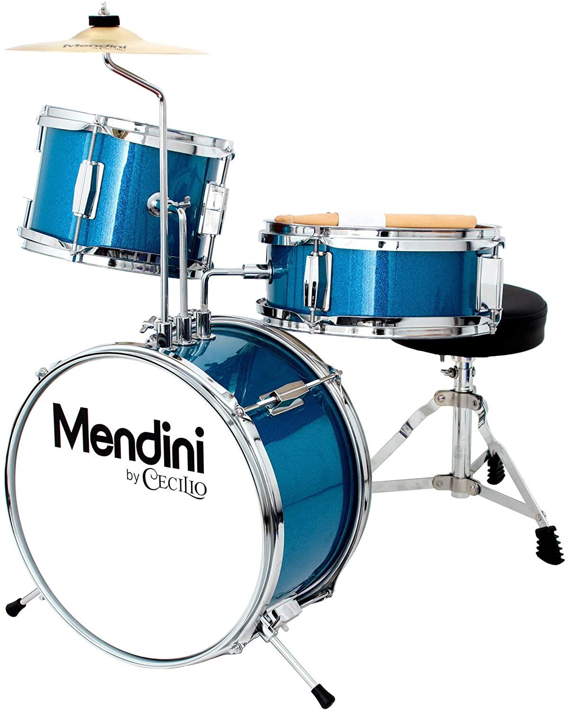 Mendini by Cecilio 13 inch 3-Piece Best Kids Drum Set