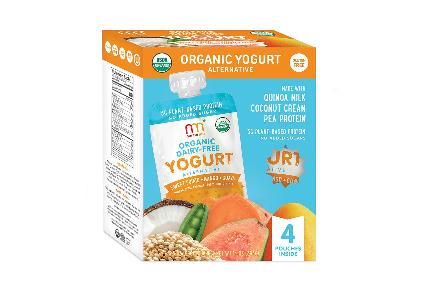 NurturMe Organic Dairy Best Baby Yogurt