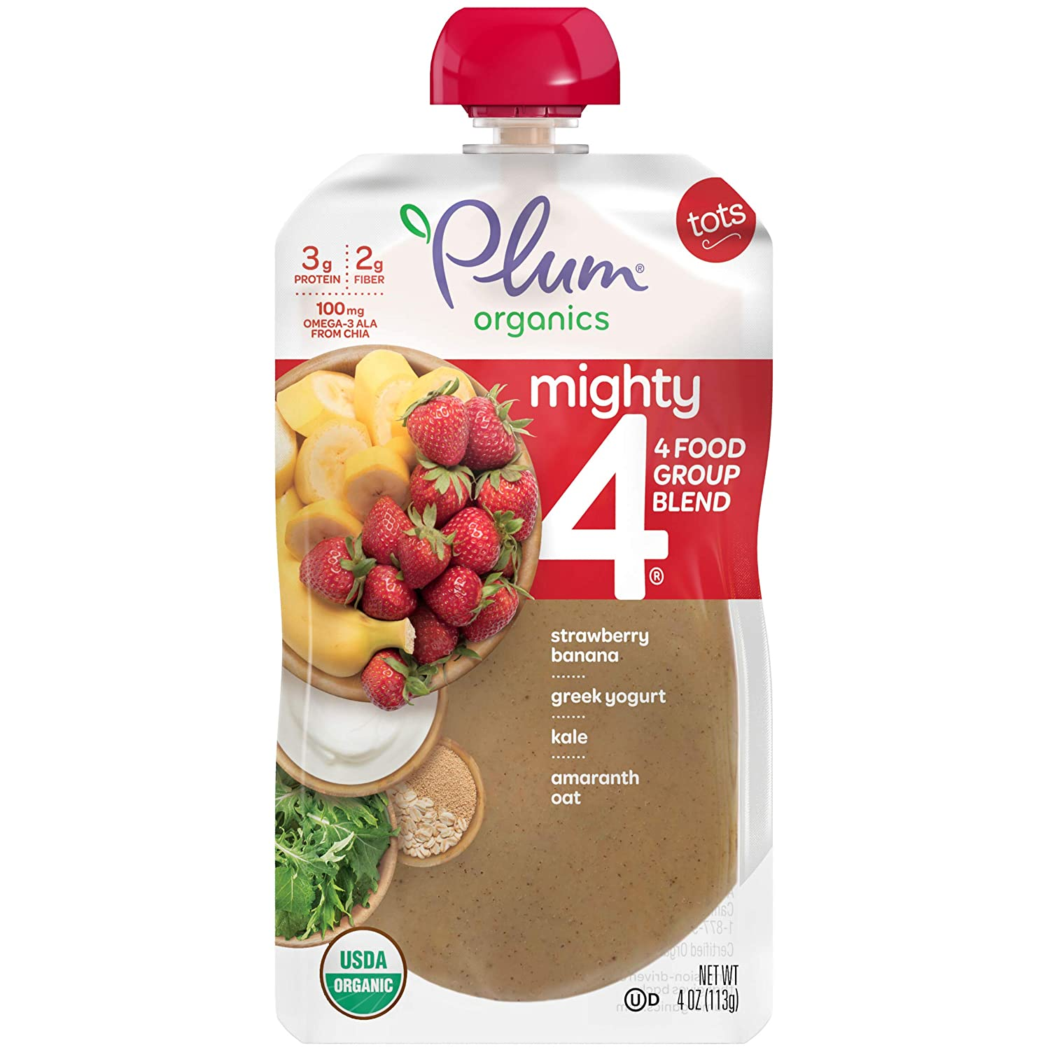 Plum Organics Best Baby Yogurt