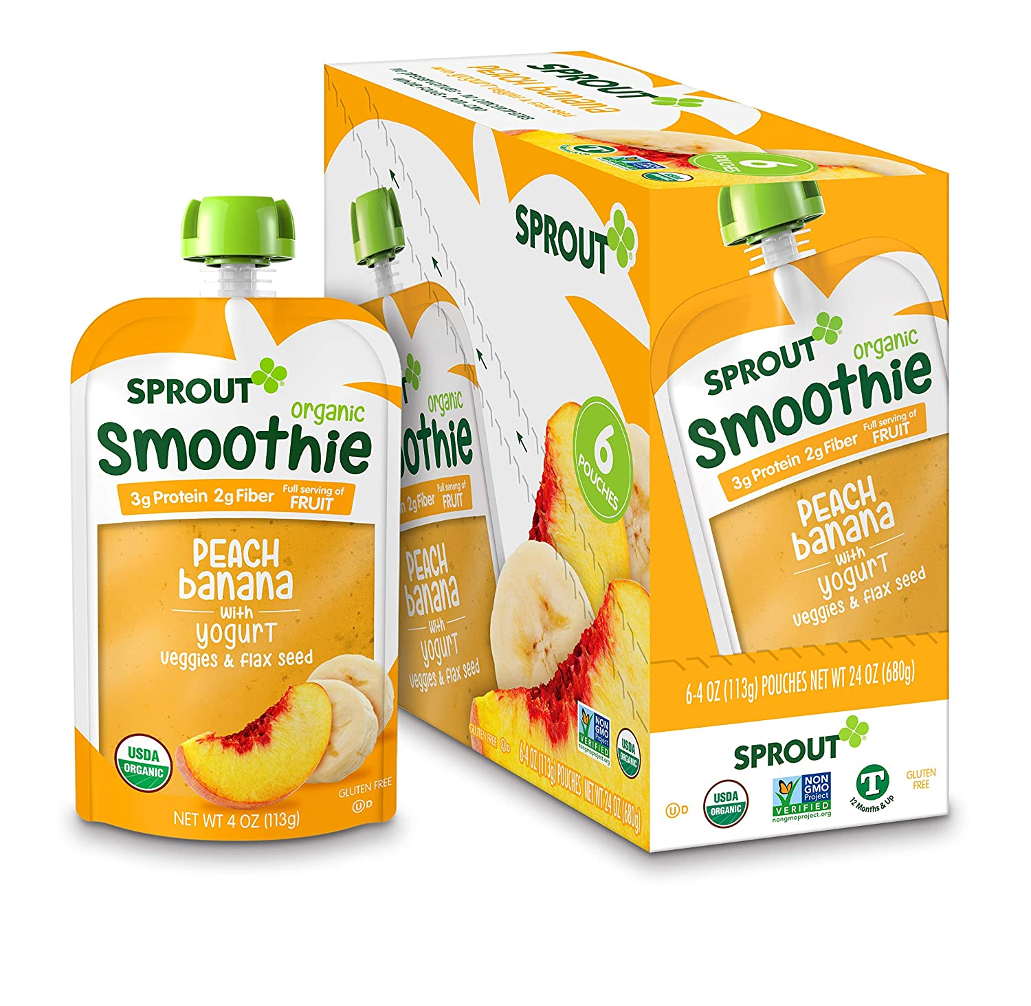 Sprout Organic Toddler Best Baby Yogurt