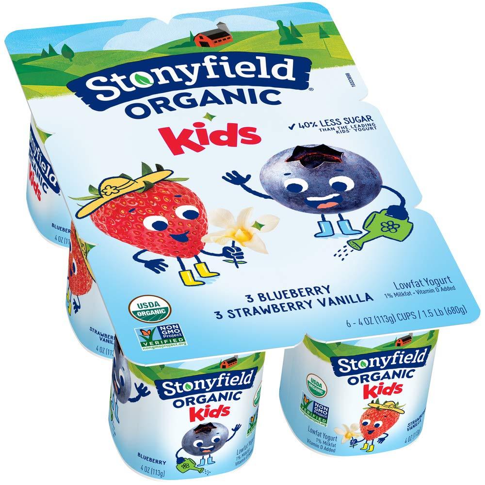 Stonyfield organic Best Baby yogurt