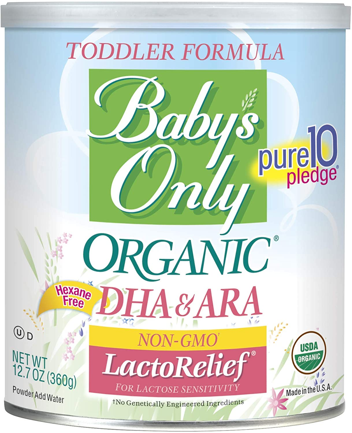 Babys Only Organic LactoRelief Best Baby Formula