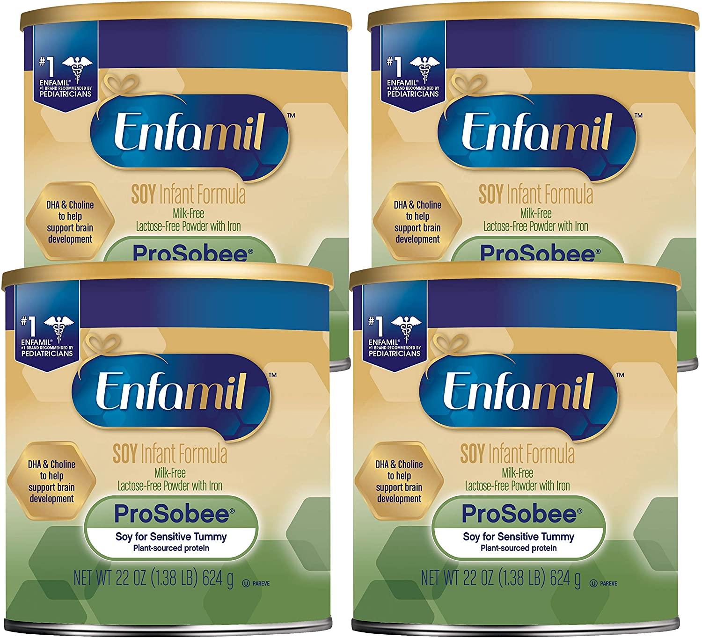 Enfamil ProSobee Soy Sensitive Best Baby Formula