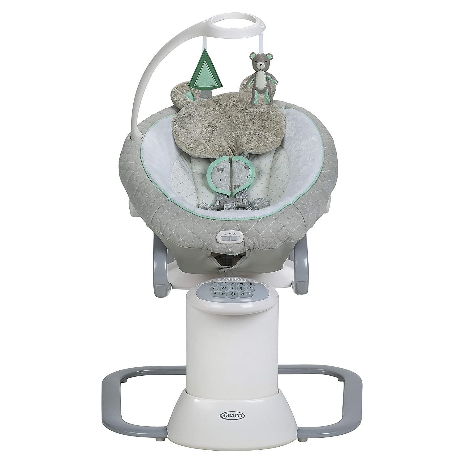 Graco EveryWay Soother Best Baby Swing with Removable Rocker