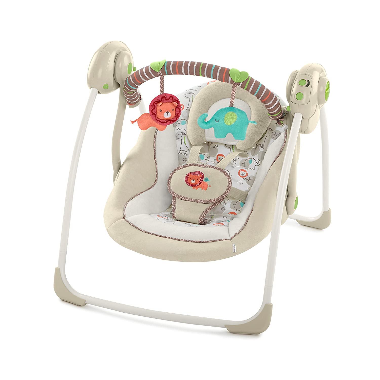 Ingenuity Cozy Kingdom Portable Best Baby Swing