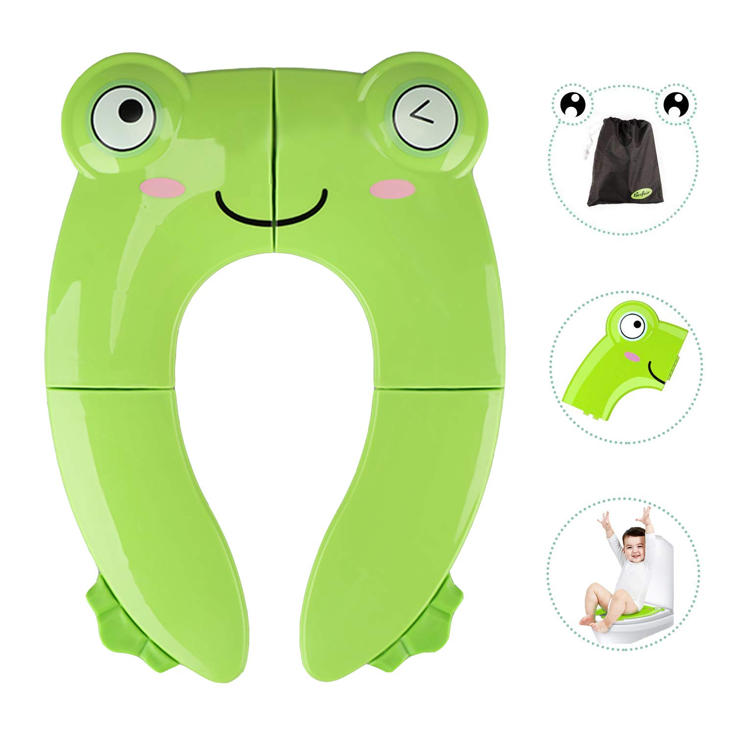Maliton Portable Best Potty Seat for Toddler Travel