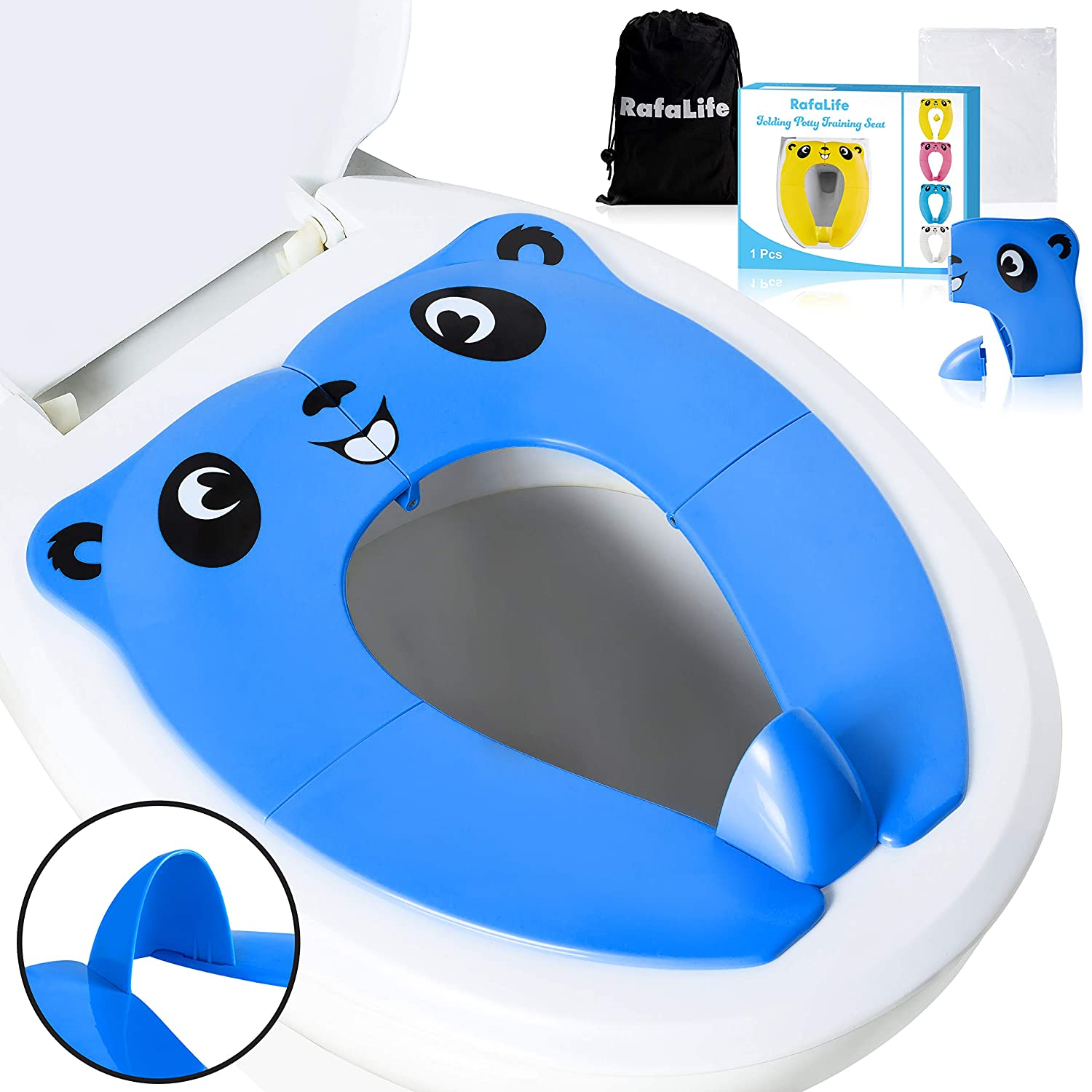 RafaLife Portable Best Toilet Seat for Toddlers