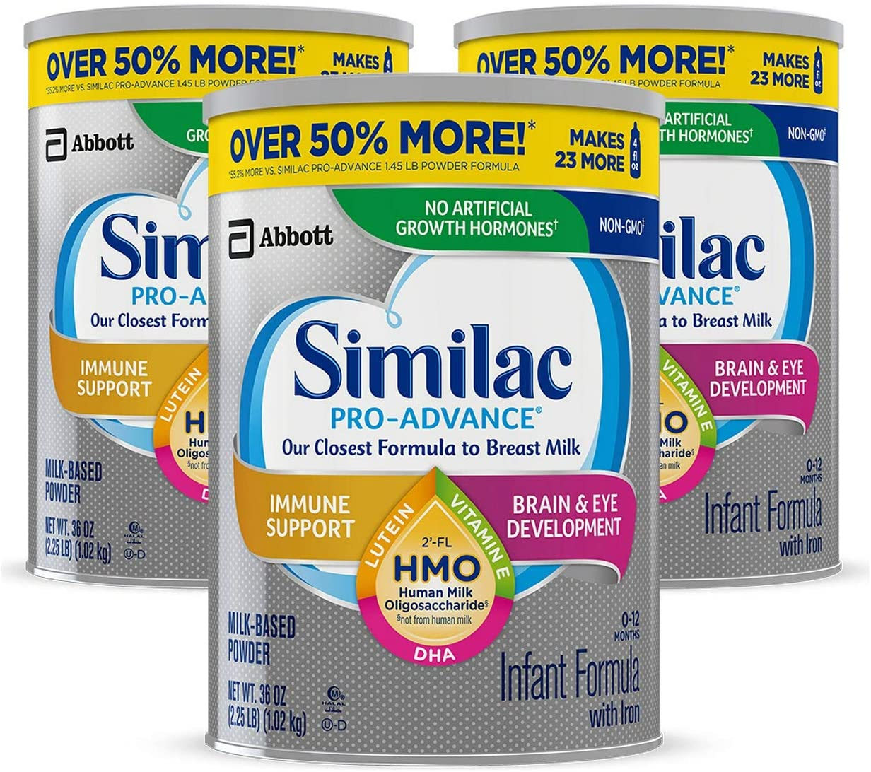 Similac Pro Non-GMO Best Infant Formula gas removal