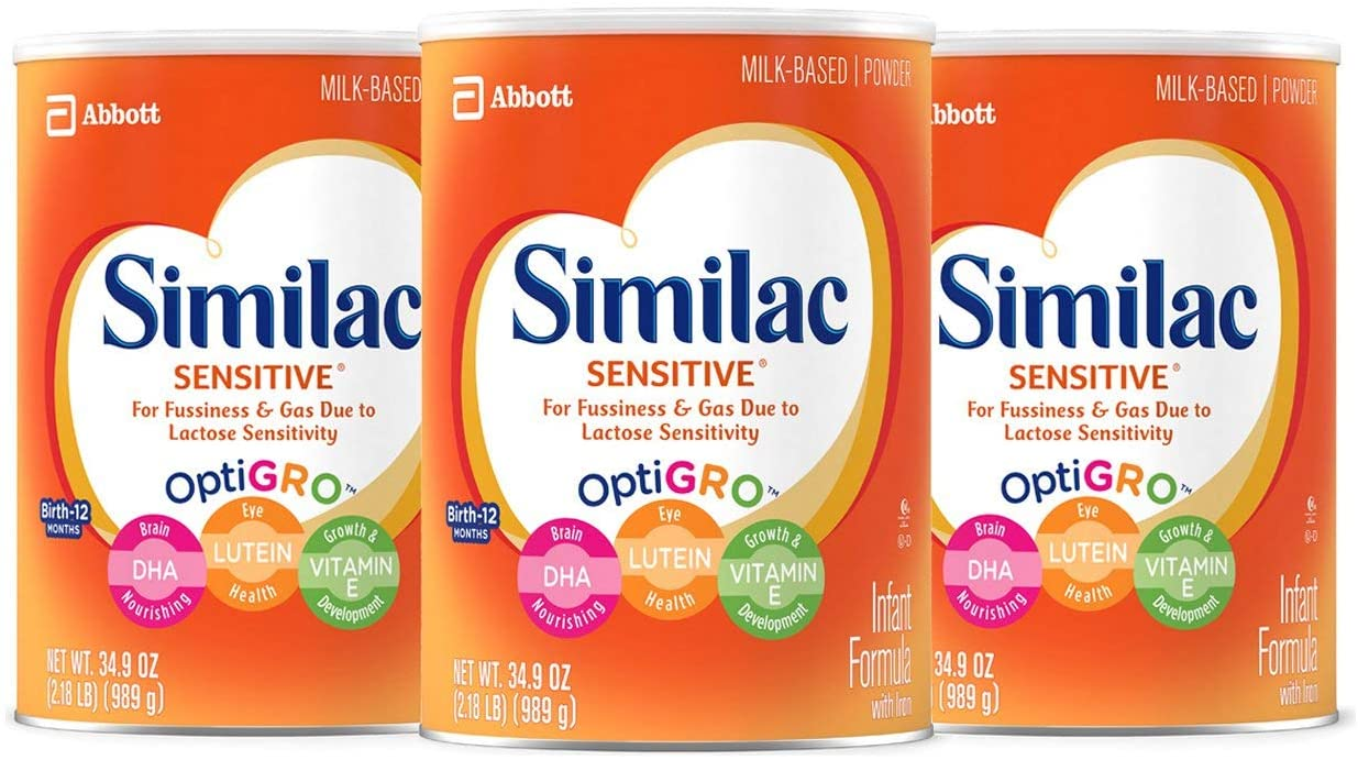 Similac Sensitive Best Infant Formula for gassy problem