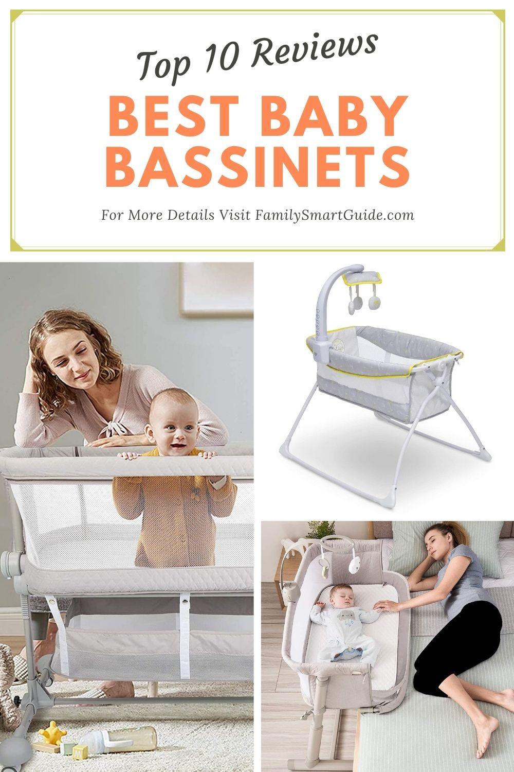 Top 10 Best Baby Bassinets Reviews