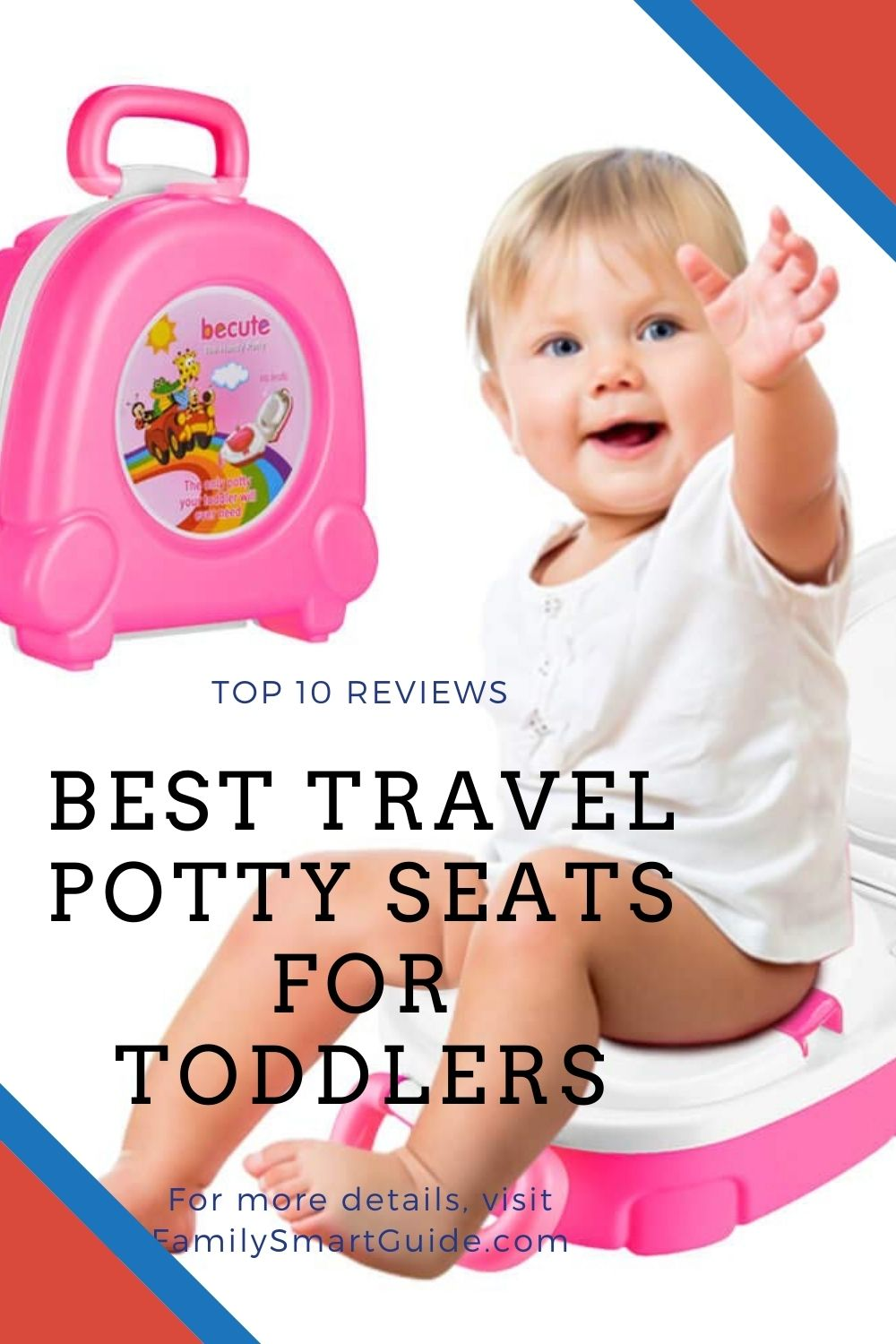 Top 10 Best Travel Potty Seats for Toddlers Reviews