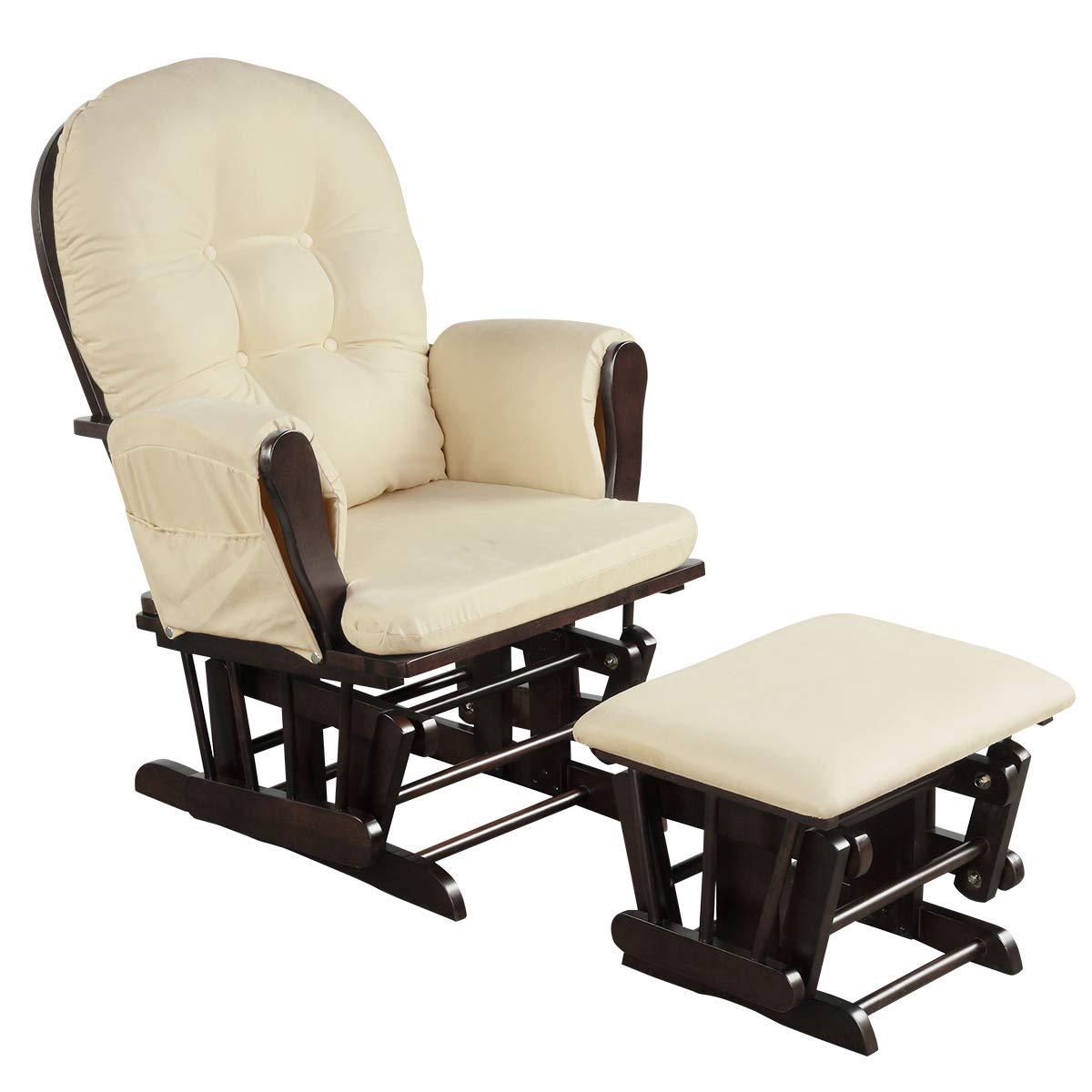Costzon Best Baby Nursery Glider and Ottoman