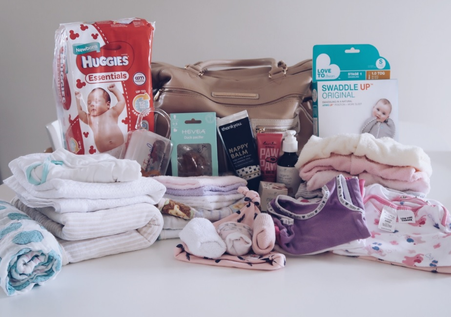 HOSPITAL BAG FOR A BABY