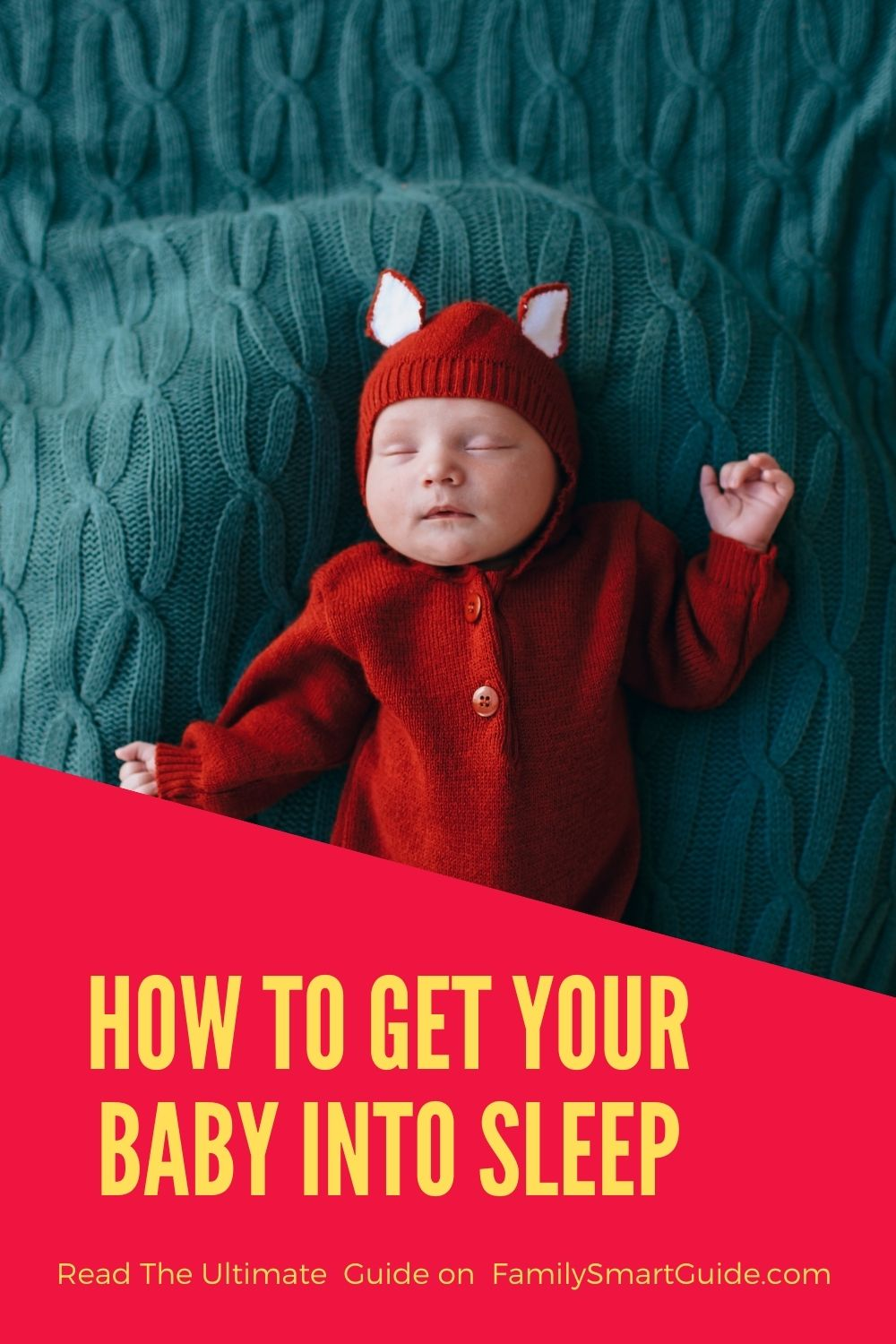 How to Get a Baby to Sleep Pinterest