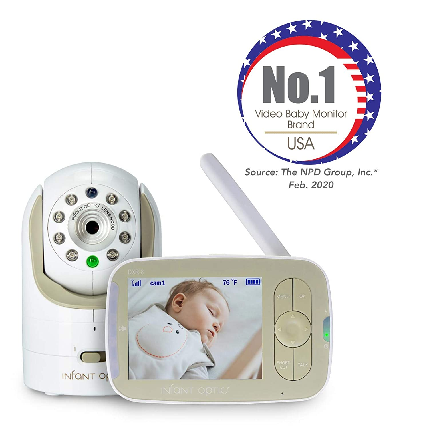 Infant Optics DXR 8 Video Best Baby Monitor
