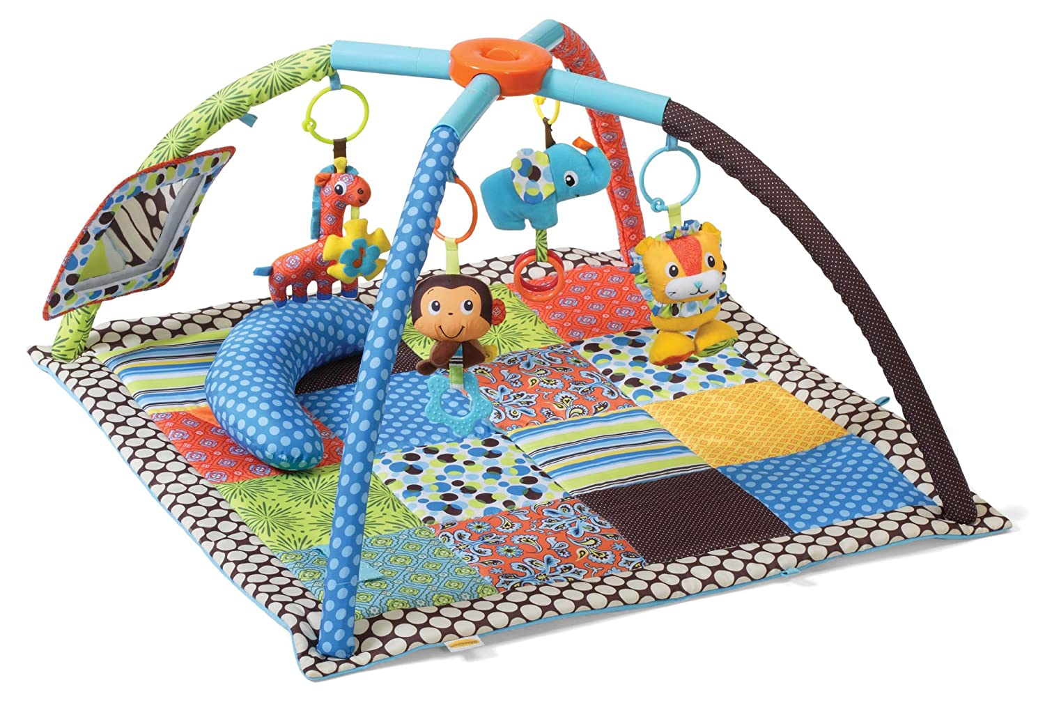 Infantino Twist and Fold Activity Gym Best Baby Play Mat