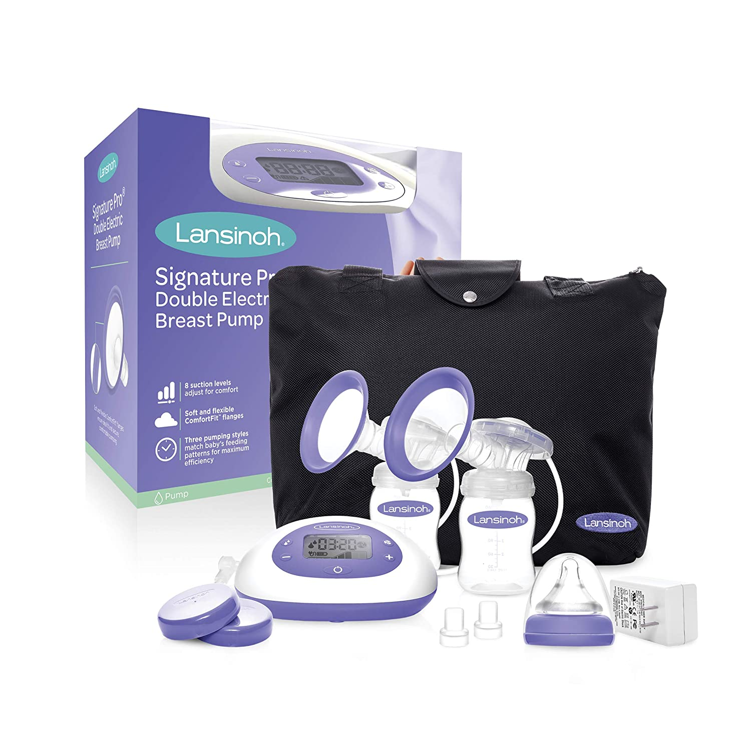 Lansinoh Signature Pro Double Best Electric Portable Breast Pump