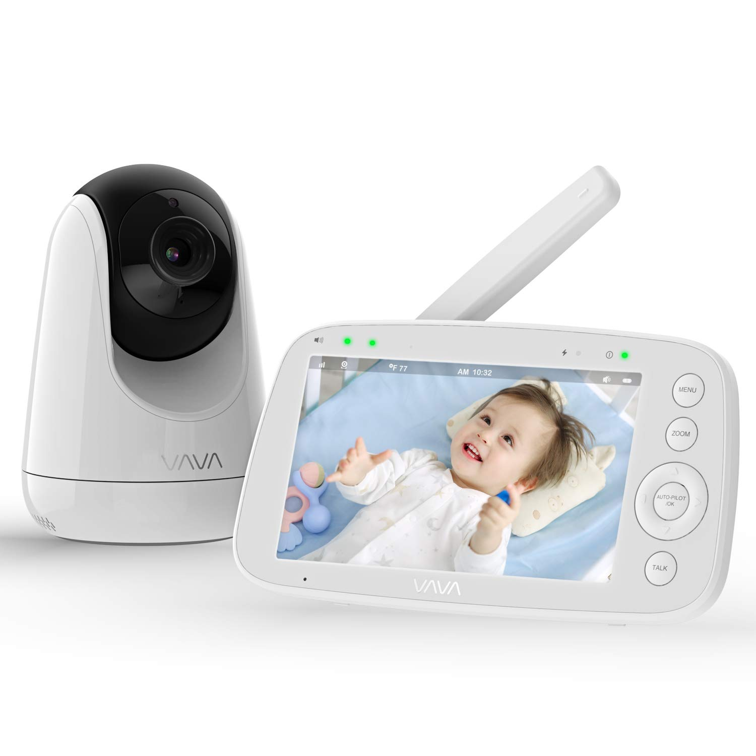 VAVA 720P HD Display Video Best Baby Monitor