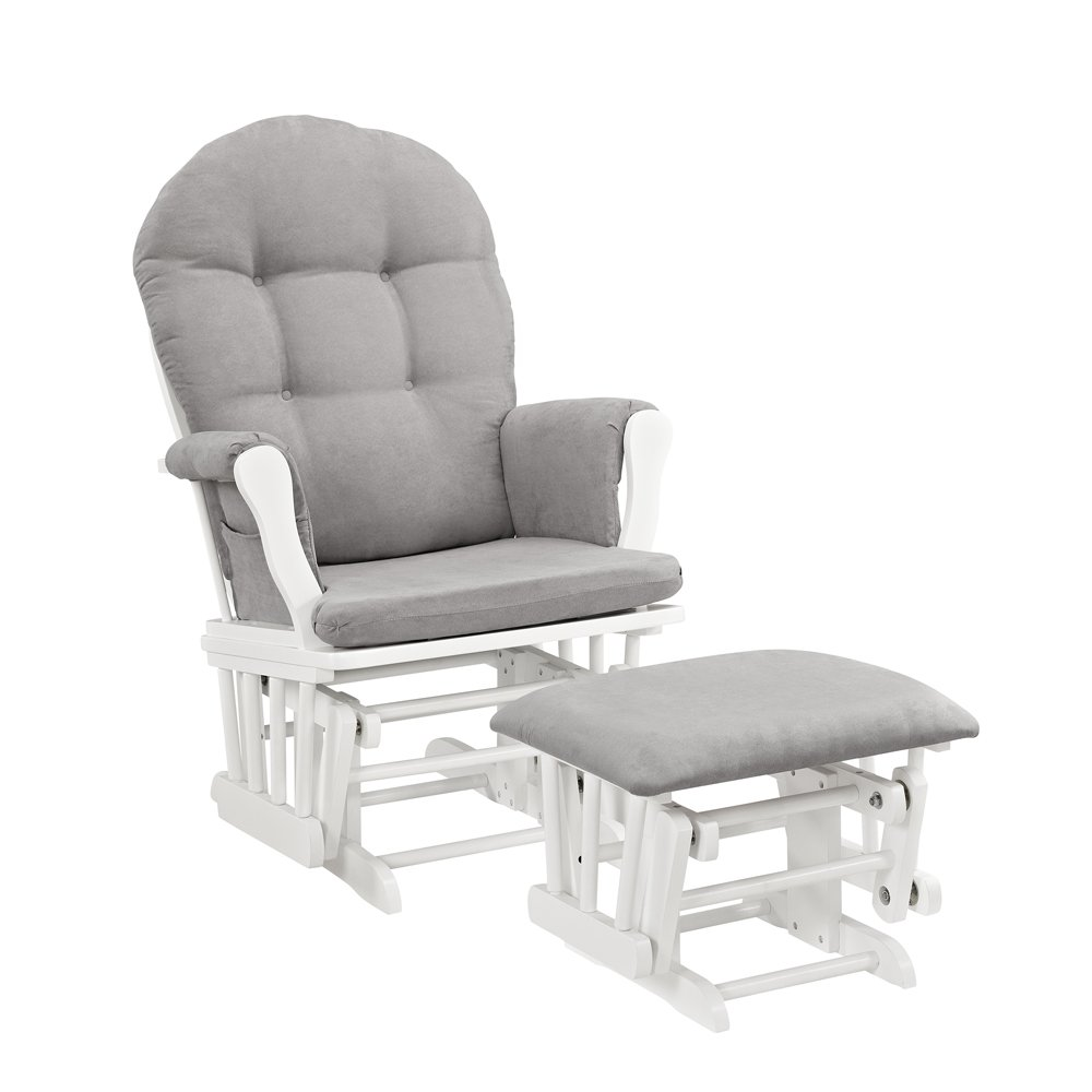 Angel Line Windsor Best Nursery Glider and Ottoman