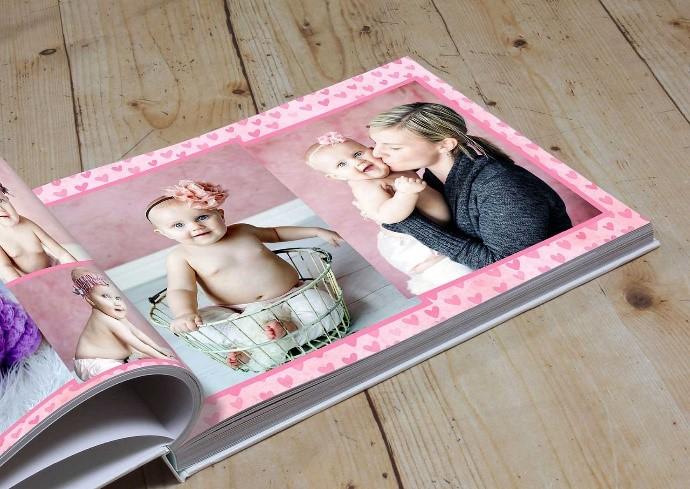 baby shower gift photo album