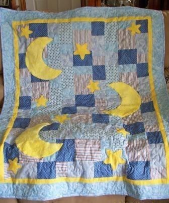 Baby quilts with symbolic